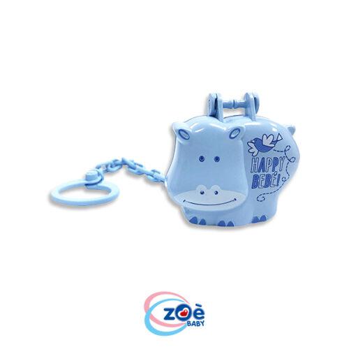 Proteggi succhietto Hippo azzurro