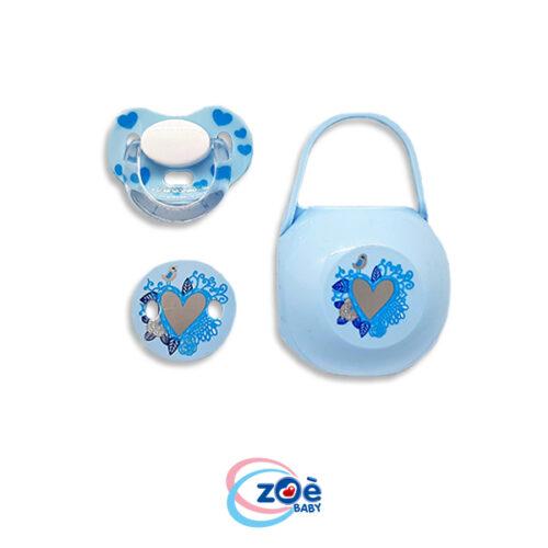 Tris azzurro azzurro