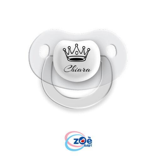 Succhietto personalizzato Bianco Corona
