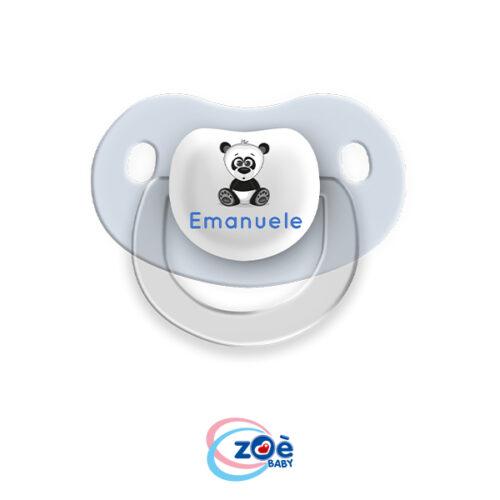 Succhietto personalizzato Celeste Panda